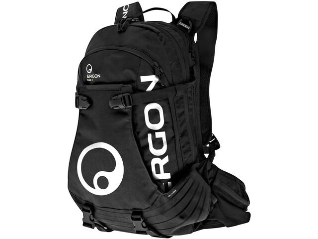 Ergon BA3 E Protect Rugzak 15+2L, black